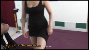 Czech wannabe tied and rough fucked