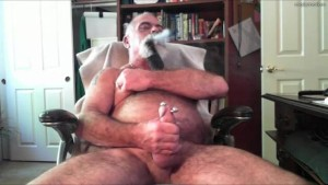 Hot Cigar Smoking Bear TitPig