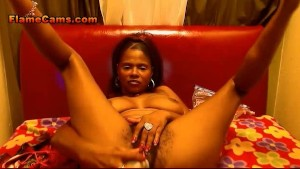 Hairy Ebony Amateur Cam Show