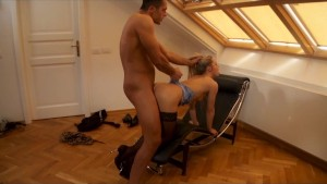 Porn For Women Sssh.com Real People Sex Series - Doggy Style Sex In Loft