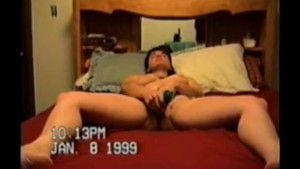 A tale of a MILF wife and her magic dildo