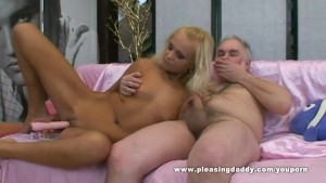 Blond Slut With Small Tits Gets Fucked By Her Sugardaddy