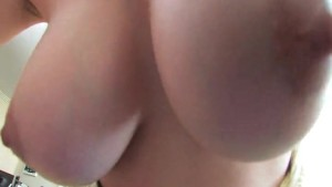 Big tits emo sucking dick in POV