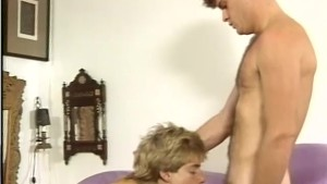 Zack Morris-wannabe is saved by the cock - Stallion Video