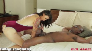 EvilAngel Dana Vespoli Wants Big Black Dick
