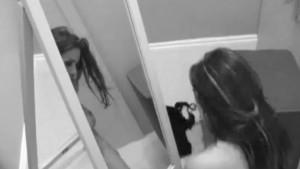 Naughty babe Linsey Dawn McKenzie caught wanking on camera