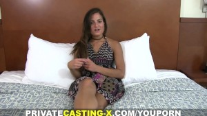 Private Casting X - Another Latin pussy to fuck