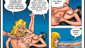 2D Comic: Pleasure Bot