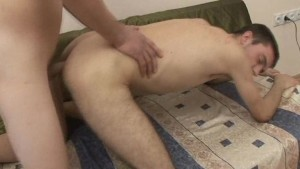 Hot Gay Couple Enjoys Bareback Anal Fuck