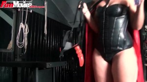 FunMovies German girl pegging her sex slave