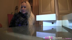 Love Creampie Gullible big tits blonde takes cock on camera for free tablet
