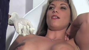 Busty Babe Visits The Clinic - Dungeon VIP