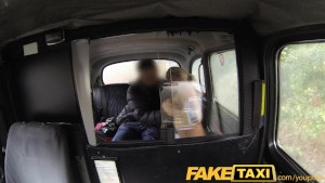 FakeTaxi Hungarian blonde does backseat anal