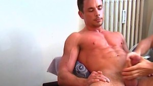 Huge chest to get massaged!