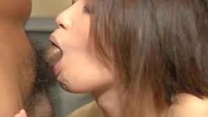 Busty girl Minayo Okamoto gets a good stuffing