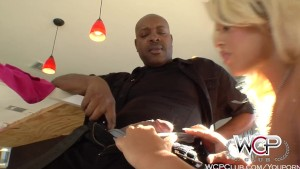 WCPClub Busty Blonde Juicy Booty takes on a BBC