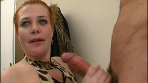 He watches his wife Delphine fucked by an other guy