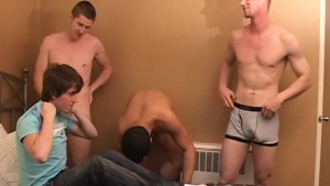 Group Fuck At My Hotel Room - Factory Video