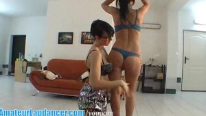 Adorable chicks striping together