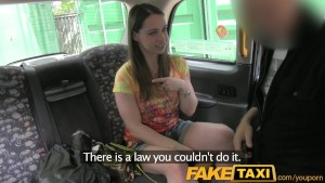 faketaxi london tourist blows and fucks like a pro