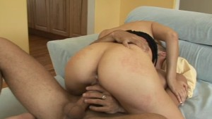 fuuuucking hot babe takes a cock up the ass