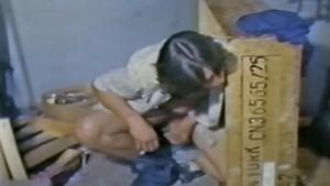 Two young men fuck in an alley while a voyeur watches - Vintage Gay Porn - VOYEUR BOYS (1978) - Nova Studios