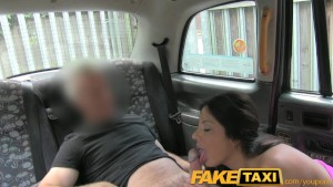 faketaxi sweet american falls for old taxi trick