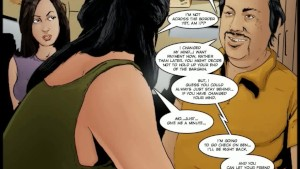 2D Comic: Crossing Over. Episode 2