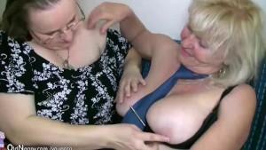 Big fat woman and old granny teacher fucking