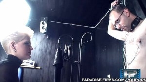 PARADISE FILMS Busty German Scarlet Young is a Dominatrix
