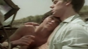 Young Man Blows Michael Christopher in a Car - THE LAST SURFER (1983)