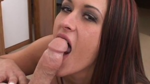 Brunette Gets Her Huge-Boobs Fucked - Pink Kitty