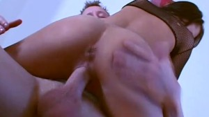 Brunette Gets Fucked From Her Pussy To Her Mouth - CRITICAL X