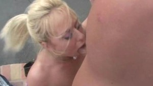 Goldie Cox Rides Thick Cock OutSide