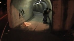 Yuka Kurihara is doggy fucked in tunnel