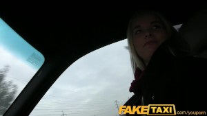 FakeTaxi Prague blonde with great ass and tits