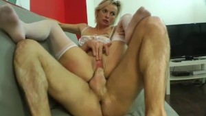 Imany a pretty blonde fucked by a stranger