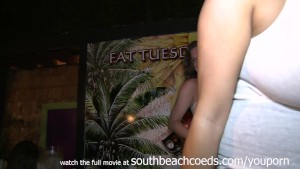 short and sweet key west wet tittie contest at a bar