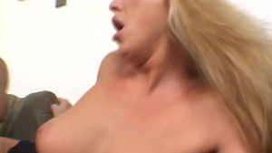 Blonde-MILF Takes 2 BBC - Naughty Risque