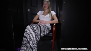 Gloryhole Secrets Blonde is amazing at sucking cock 1