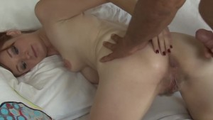 Redhead Teen Buttfucked by Dad s Friend