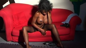 Sexy Black Girl Shows Off!- Java Productions
