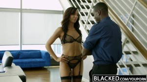 BLACKED New York Escort Tiffany Brookes Gets Facial From Big Black Cock