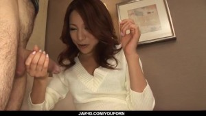Sweet, Kanako Tsuchiyo, blows cock like an angel