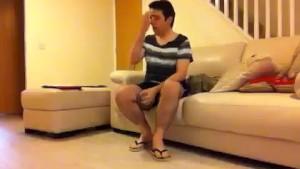 Sneezing Ian s Sneezing and Flip Flops Fetish Video (2)