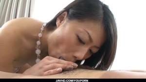 Creampie to endHina Aisawa strong hardcore fuck