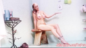 Julia Ann Gets Soaking Wet!
