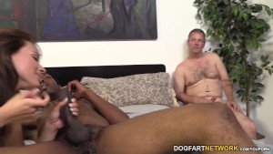 Kayla West Goes Black In Front