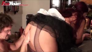 FUN MOVIES Jizzing the Busty maid