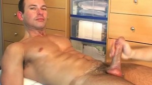 Gym trainer s huge cock !